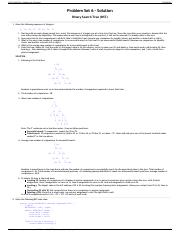 CS 112 Fall 2014 - Problem Set 6 Solution