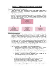 Chapter 2 – Historical Foundations of management.docx