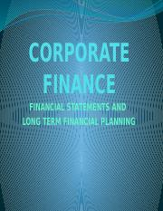 Financial statements and lt financial plang.pptx