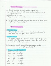 Commands, Expressions, Letter Writing