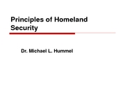 Principles of Homeland SecurityLsnI