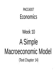 Lecture note for Week 10 Simple model.pptx