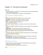 Principles of Economics - Chapter 13