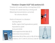 Lecture 8C on Titration