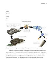 Radiocarbon dating.docx