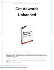 Adwords-Unbanned