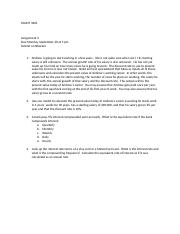 Assignment 3 3201 Fall 2013.docx
