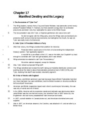 apush chapter 17 chapter 17 manifest destiny and its legacy i the rh coursehero com Geometry Study Guide Geometry Study Guide PDF