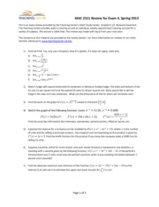 Spring2013Exam4Review