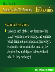 Econ Chapter 2 Section 2-2
