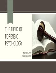 M5A1_The Forensic Psychology Booklet