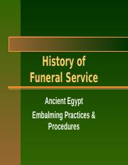 (3) Ancient Egypt - Embalming Practices & Procedures.ppt