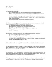 Study Questions ch 13