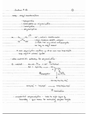 CHEM 40 Spring 2014 Notes on Lecture 28
