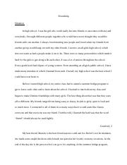 discussion essay troy maxson the villain or hero in a drama or  13 pages friendship paper