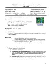 ITEC 242 Fall 2014 008 syllabus