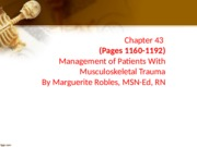 Ch_43 Management of patients with musculoskeletal trauma-1.ppt