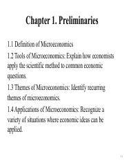 themes of microeconomics