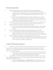 04.07 REVIEW AND CRITICAL THINKING