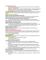 Ling 5 - Speech Acts and Conversation notes pt 2