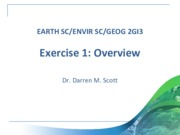 Exercise 1 Overview (2GI3-W14)