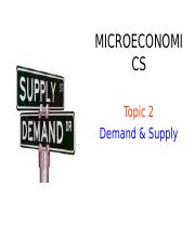 BAFB1023 Topic 2 Demand and Supply.ppt