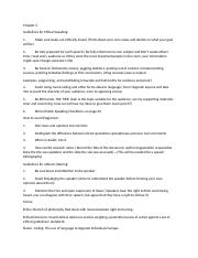 CSTA Chapter 2 notes