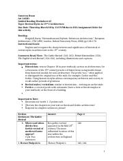 Guided Reading Worksheet #5