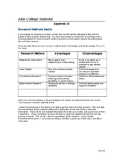 beh225 week one checkpoint research method 2016-9-25 beh 225 week 3 learning and behavior worksheet join  studied how different psychological disorders affect one's  225 week 1 checkpoint research.