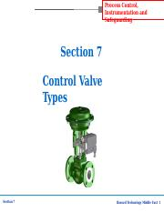 Section-7 Control Valve Types.ppt