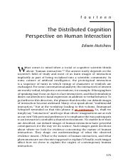 9.29. Hutchins 2006 DCog human interaction.pdf