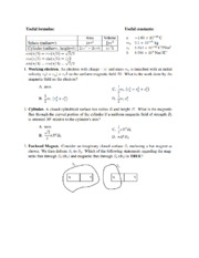 Physics 72 Prob Set 2 # 1-10