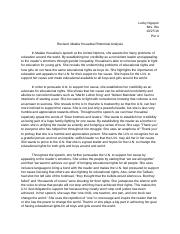 Revised: Malala Yousafzai Rhetorical Analysis