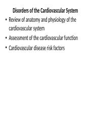 Review of CVS Physiology.pptx