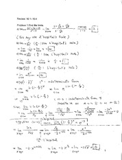 Review (2) Solution