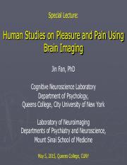Pleasure and Pain Lecture 25 2016 Fan 5-5(1).pdf