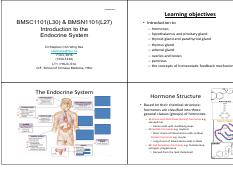 L27 - Introduction to the endocrine system (Dr. CW Sze) [20161007] (1).pdf