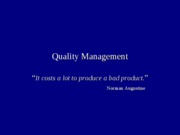 Quality Management_Fall05