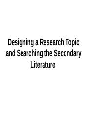 Designing a Research Topic_2