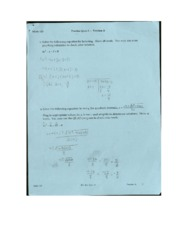 Quadractic Formula Worksheet