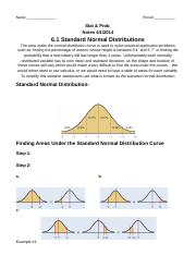 6.1 Standard Normal Distribution.docx
