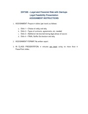 Legal Feasibility Presentations Assignment Instructions (1)