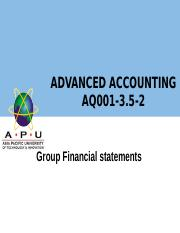 Advanced accounting 2