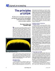 OFDM_Article from magazine RF Design