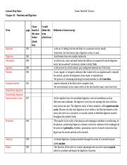 Lecture Prep Sheet Chapter 45.doc
