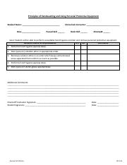 Handwashing and PPE check off form.pdf