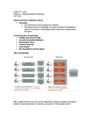 Chapter #4 - Enterprise Resource Planning