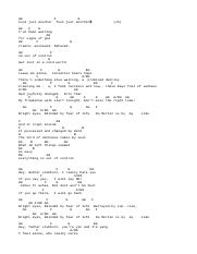 Bright Eyes Acoustic Chords by Blind Guardian.txt