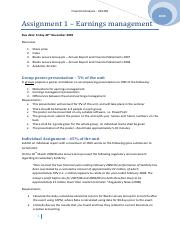 Assignment 1 - Earnings management.pdf