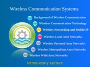 notes-Lec 1 - Introduction to Wireless Communication System